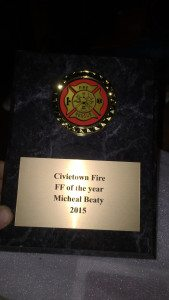 Michael Beaty Award